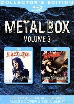 ALICE COOPER / TED NUGENT: METAL BLUE-RAY, VOL. 3 (2xBLU-RAY)