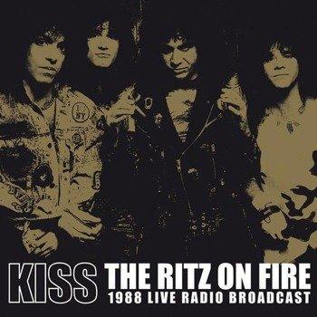 KISS: THE RITZ ON FIRE -1988 LIVE RADIO BROADCAST (2LP VINYL)