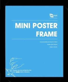 Rama do plakatu MINI 40x50 czarna