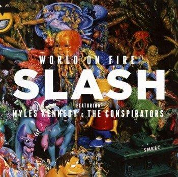 SLASH: WORLD ON FIRE (CD)