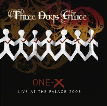 THREE DAYS GRACE: ONE-X/LIVE AT THE PALACE (CD)