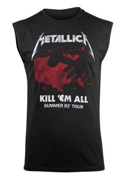 bezrękawnik METALLICA - KILL 'EM ALL TOUR 1983