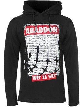 bluza ABADDON - WET ZA WET, z kapturem