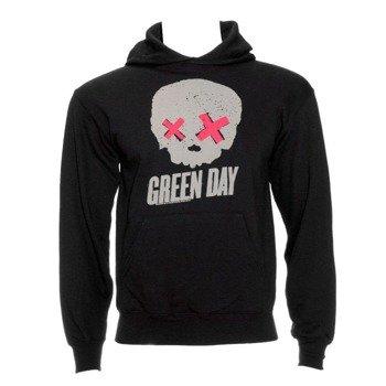 bluza GREEN DAY - SKULL, z kapturem