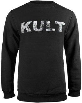 bluza KULT - LOGO czarna, bez kaptura