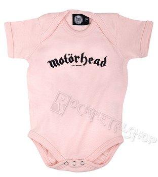 body dziecięce MOTORHEAD - LOGO różowe