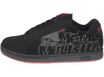buty METAL MULISHA - ETNIES FADER BLACK BLACK RED