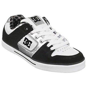 buty damskie DC Pure Women's Skateboard Shoes - Black / White  (300885)