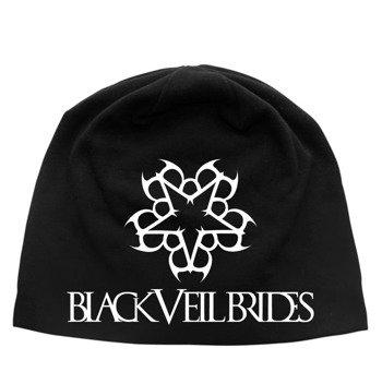 czapka BLACK VEIL BRIDES - LOGO, zimowa