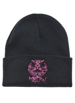 czapka zimowa DARKSIDE - KITTEN MEOW 666