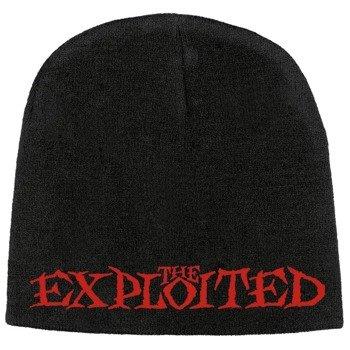 czapka zimowa THE EXPLOITED - LOGO