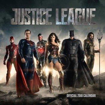 kalendarz JUSTICE LEAGUE 2018