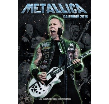 kalendarz METALLICA 2018