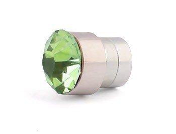 klipsy na magnes KRYSZTAŁKI zielone