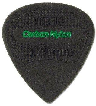 kostka gitarowa PICKBOY EDGE, SHARP TIP Carbon Nylon 0,75mm