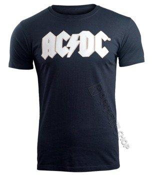 koszulka AC/DC - LOGO AND ANGUS navy