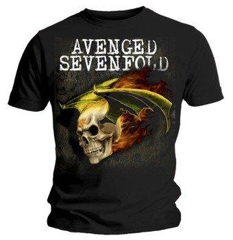 koszulka AVENGED SEVENFOLD - FLAMING DEATH BAT