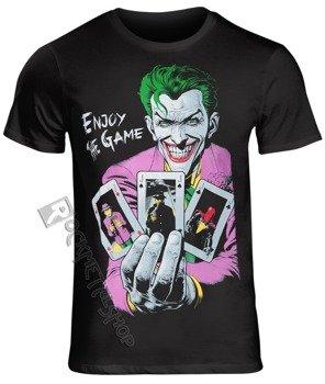 koszulka BATMAN - ENJOY THE GAME czarna