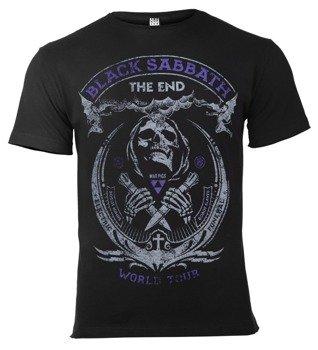 koszulka BLACK SABBATH - THE END czarna