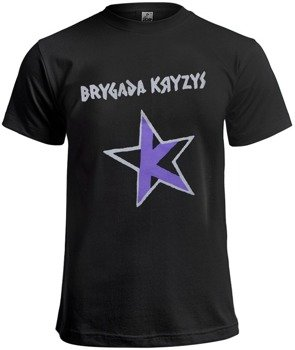 koszulka BRYGADA KRYZYS szaro-fioletowa