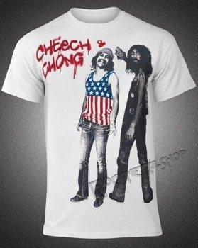 koszulka CHEECH AND CHONG - USA FLAG
