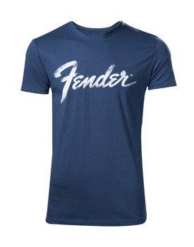 koszulka FENDER - BLUE CLASSIC LOGO