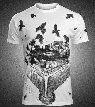 koszulka GRAMOPHONE, biała