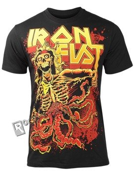 koszulka IRON FIST - NUMBER OF THE BEAST (BLACK)