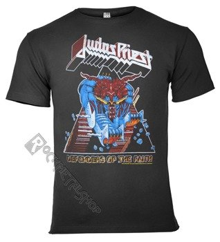 koszulka JUDAS PRIEST - DEFENDER OF THE FAITH ciemnoszara