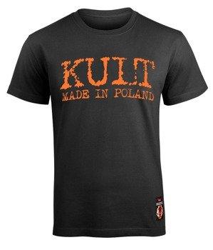 koszulka KULT - MADE IN POLAND (LOGO+NAPIS)