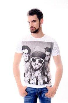 koszulka KURT COBAIN biała