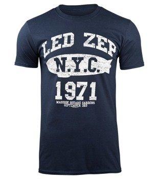 koszulka LED ZEPPELIN - NYC 1971 navy