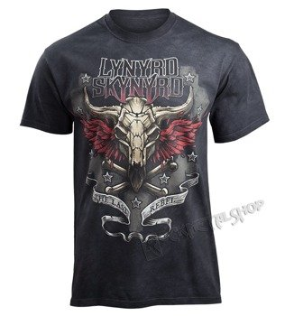 koszulka LYNYRD SKYNYRD - THE LAST REBEL, barwiona