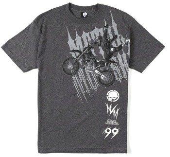 koszulka METAL MULISHA - JUMPER charcoal