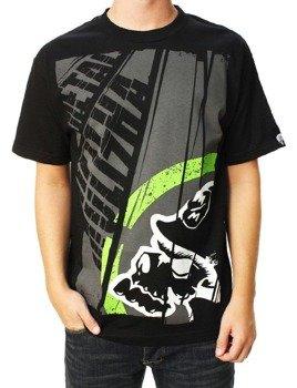 koszulka METAL MULISHA - TITLE czarna