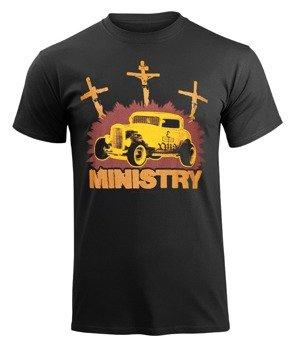 koszulka MINISTRY - HOT ROD (EX TOUR TEE)