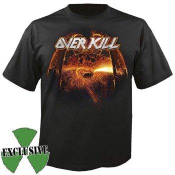 koszulka OVERKILL - THE GRINDING WHEEL EUROPEAN TOUR