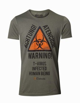 koszulka RESIDENT EVIL - BIOHAZARD WARNING