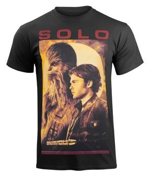 koszulka STAR WARS - SOLO PROFILE