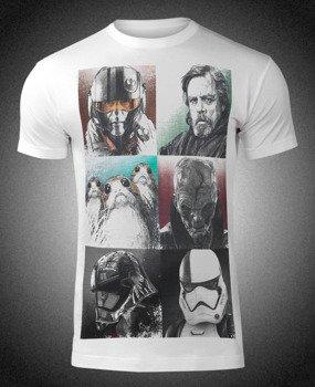 koszulka STAR WARS VIII - THE LAST JEDI CHARACTERS