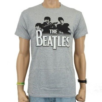 koszulka THE BEATLES - BAND OVER LOGO