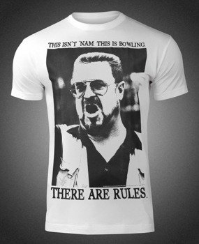 koszulka THE BIG LEBOWSKI - THERE ARE RULES