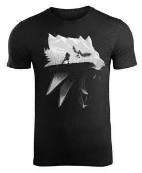 koszulka THE WITCHER - WOLF SILHOUETTE