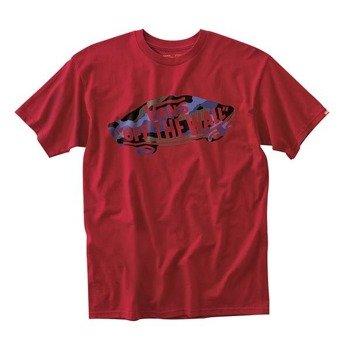 koszulka VANS - CAMO OTW (CARDINAL)