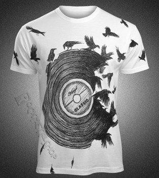 koszulka VINYL, biała