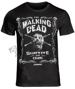 koszulka WALKING DEAD - BORDER OF BONES