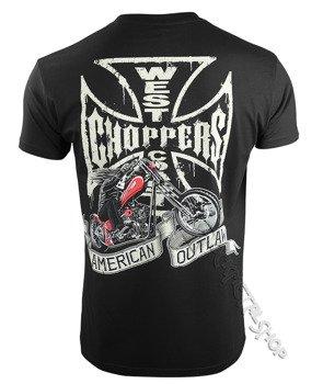 koszulka WEST COAST CHOPPERS - CHOPPER DOG, black