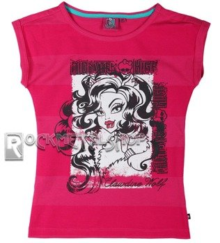 koszulka dziecięca MONSTER HIGH - CLAWDEEN WOLF dla dziewczynki