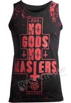 koszulka na ramiączkach AMENOMEN - NO GODS NO MASTERS (OMEN080KR ALLPRINT RED)
