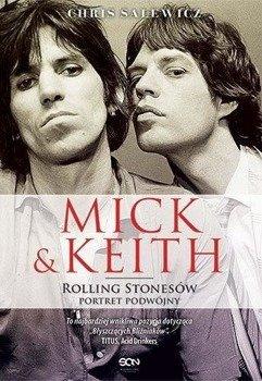 książka MICK I KEITH. ROLLING STONES PORTRET PODWÓJNY